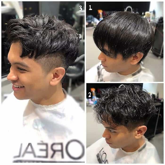 short shag hair for teen boys