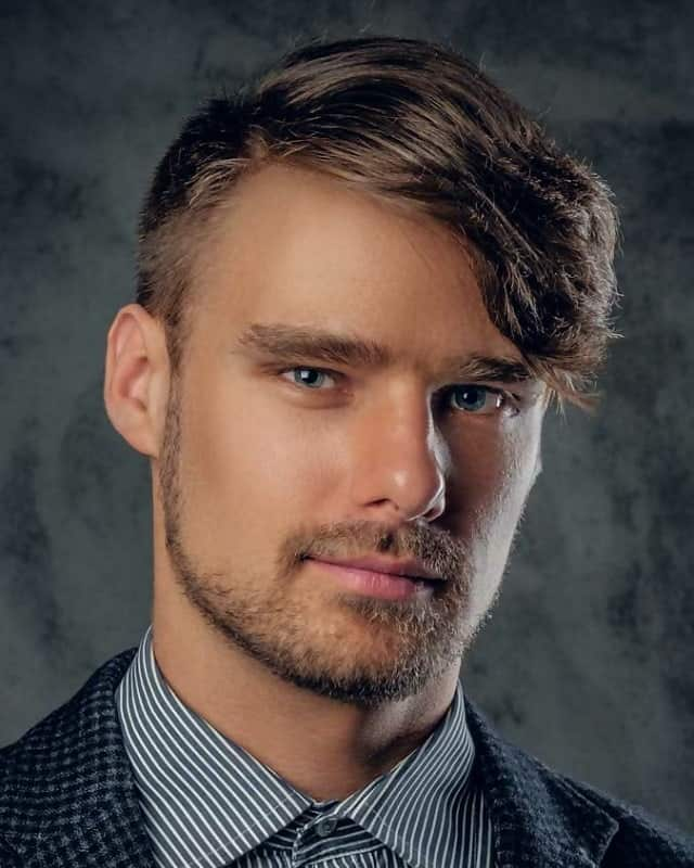 short asymmetrical hairstyles for men with thin hair