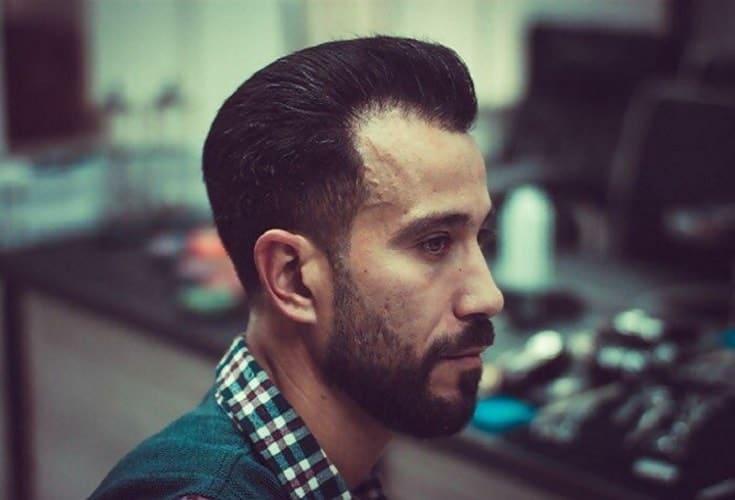 classic short pompadour hairstyles for men