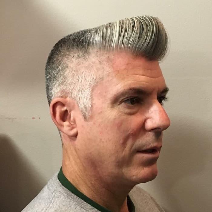 short pompadour hair for men