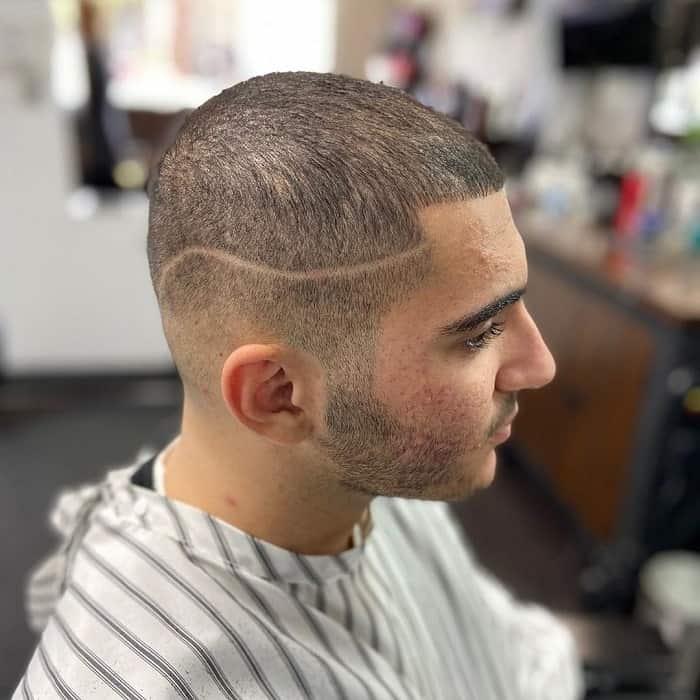 short thin haircut for men