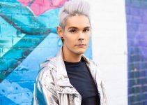 silver hair for men