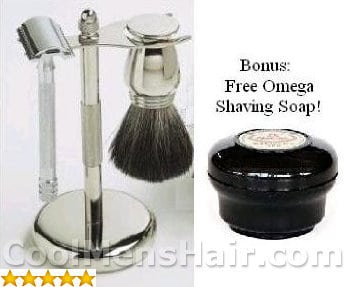 Image of SimplyBeautiful Shaving Gift Set.
