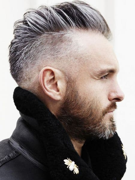 Fauxhawk With Slick Back Undercut