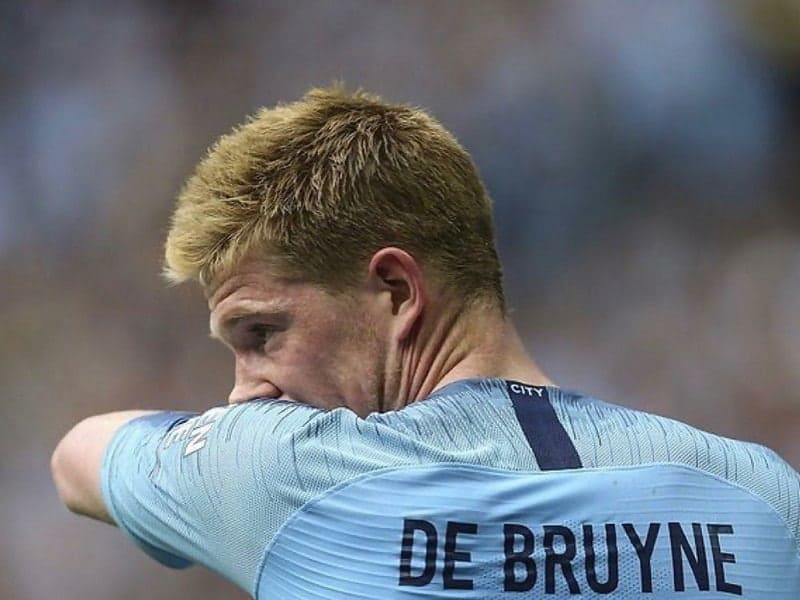 soccer player Kevin de Bruyne hairstyle