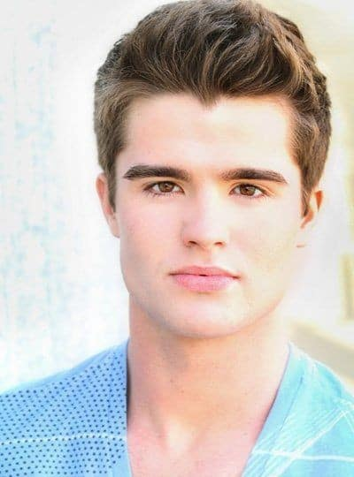 Photo of Spencer Boldman hairstyle.