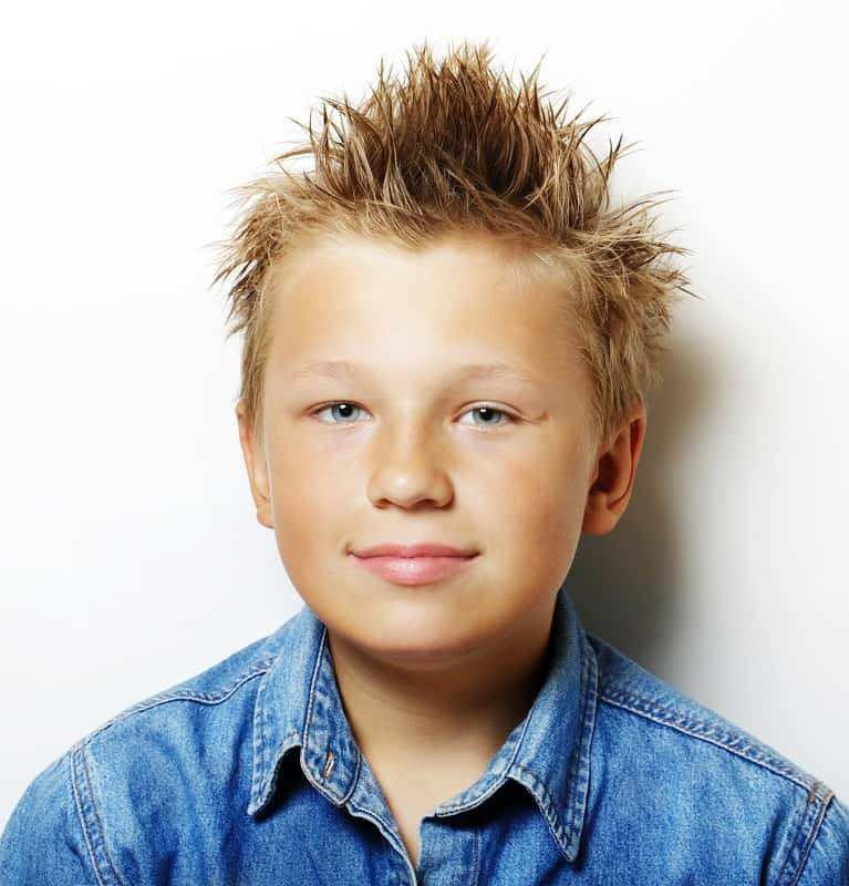 spiky haircut for 12 year old boys