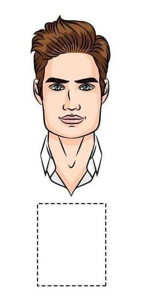 square face men hair