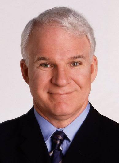 Image of Steve Martin hairstyle.