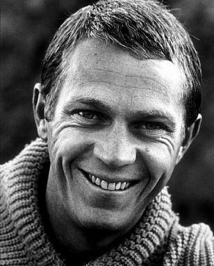 Photo of Steve McQueen short hairstyle.