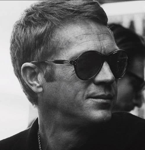 Image of Steve McQueen hairstyle.