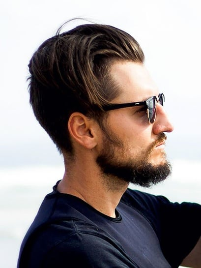 undercut style for surfer hair