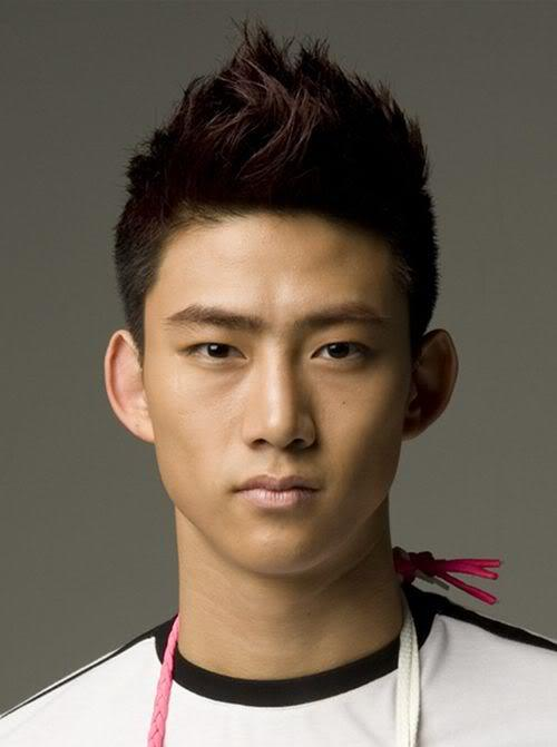 Picture of Taecyeon hairstyle.