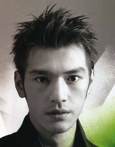 Takeshi Kaneshiro short hairstyle