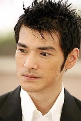 Takeshi Kaneshiro short spiky hairstyle