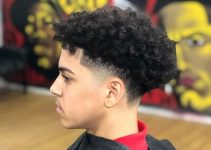 taper fade blowout hair