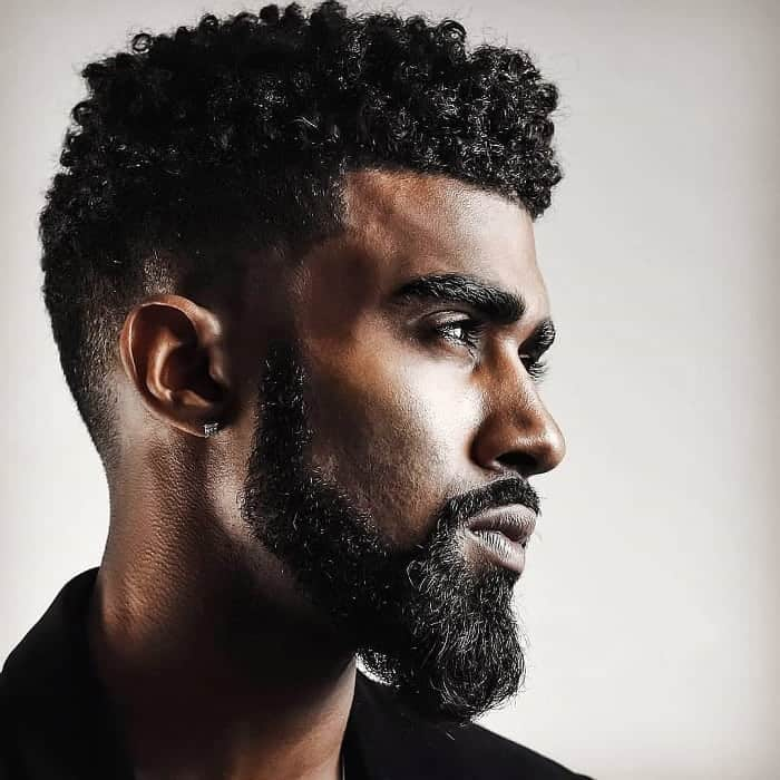 taper fade haircuts for curly hair