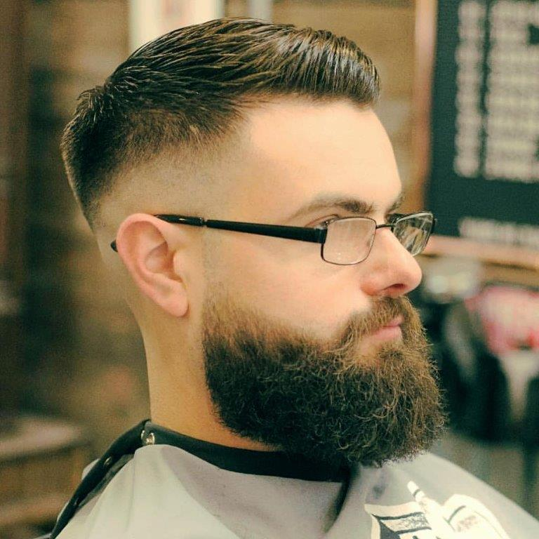 7 Of The Coolest Taper Fade Hairstyles For Bearded Men