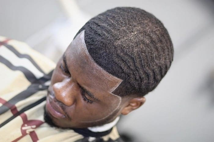 taper fade with 360 waves