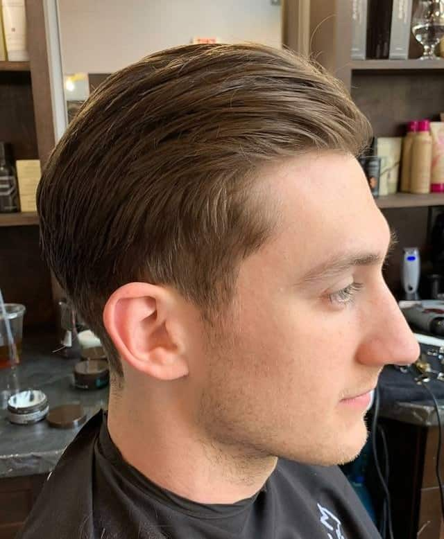 Long Tapered Crew Cut