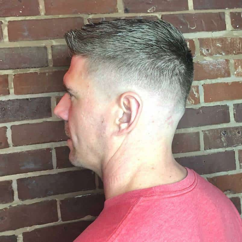 best tapered crew cuts for men