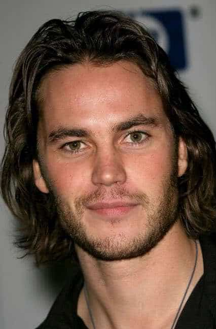 Taylor Kitsch long hairstyle