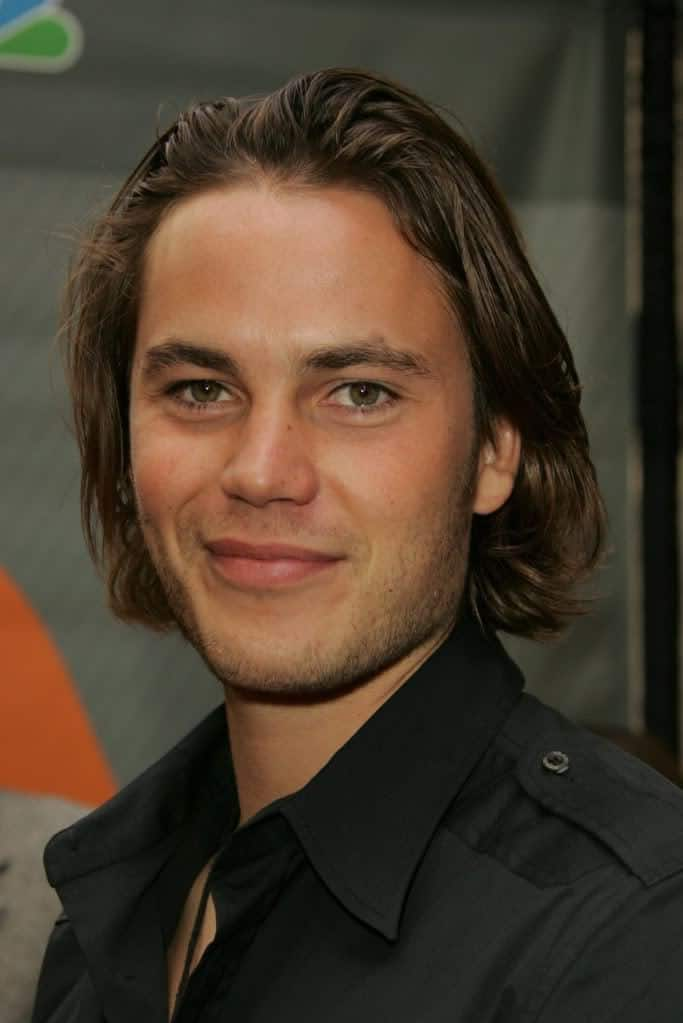 Taylor Kitsch And Tim Riggins Long Hairstyles Cool Mens Hair