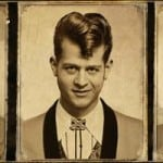 A teddy boy hair. photo via http://cleepowell.tumblr.com/post/53575315615/teddy-boy-quiff-by-ever-amazing-schorem