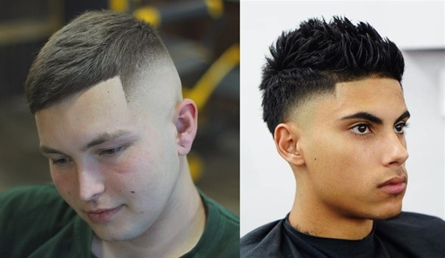 temple fade haircut for teenage boys