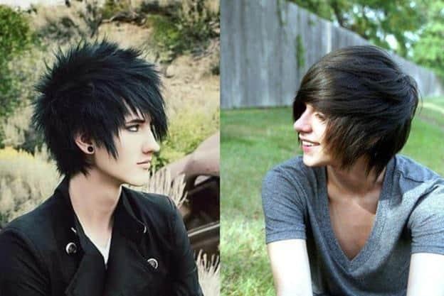 Emo Haircuts for Teenage Boy