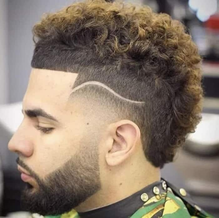 temp fade haircut