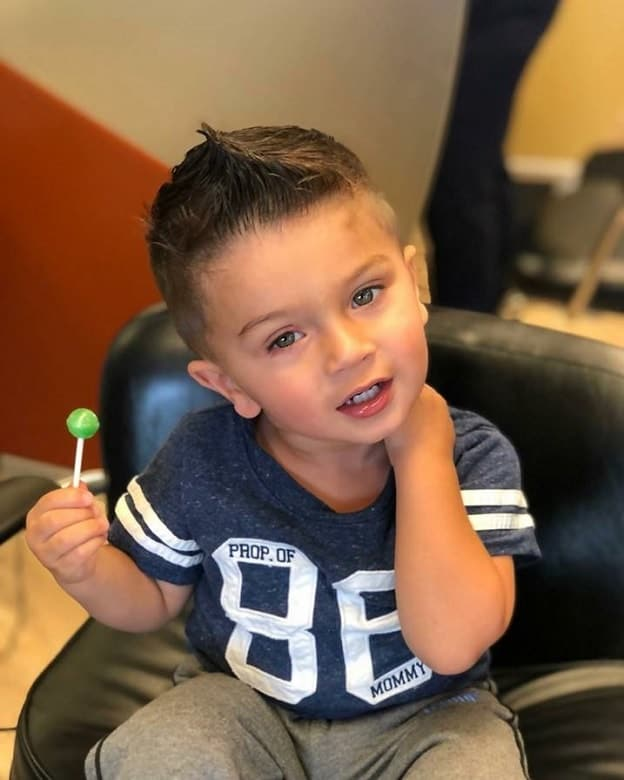 12 Smart Haircuts For Toddler Boys With Short Hair