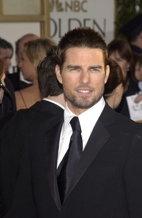 Tom Cruise Buzz cut hair
