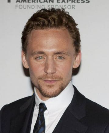 Image of Tom Hiddleston facial hair.