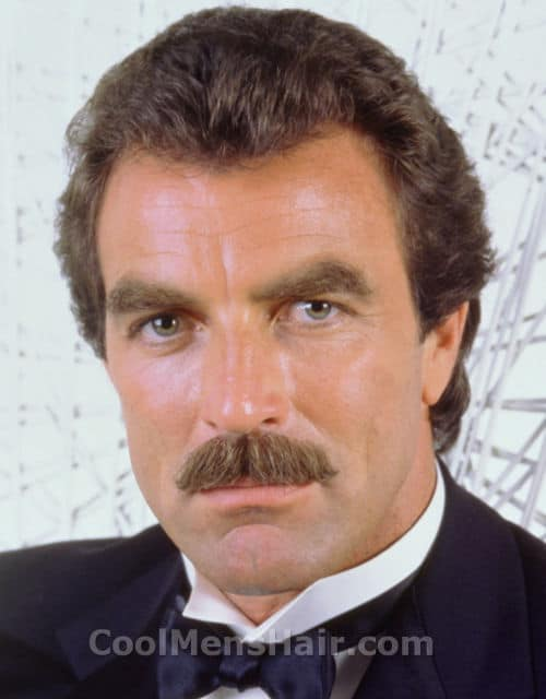 Photo of Tom Selleck.