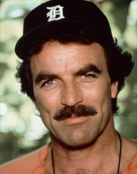 tom selleck mustache styles