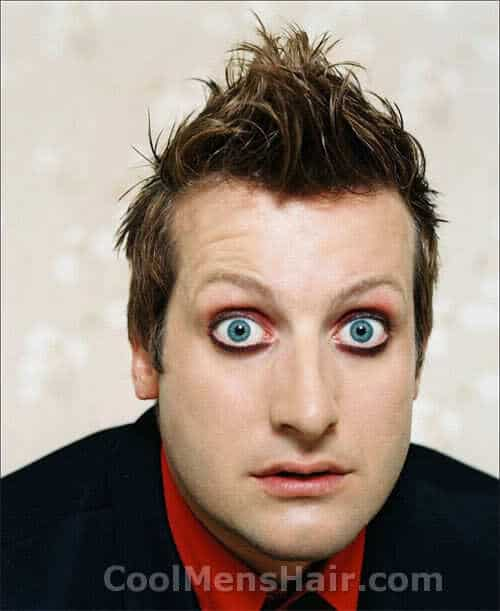 Photo of Tre Cool hairstyle.