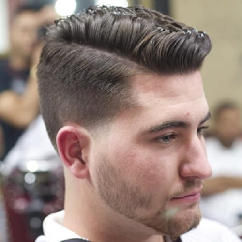 comb over undercuts ideas for men