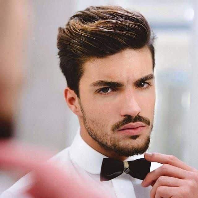 undercut groom hair