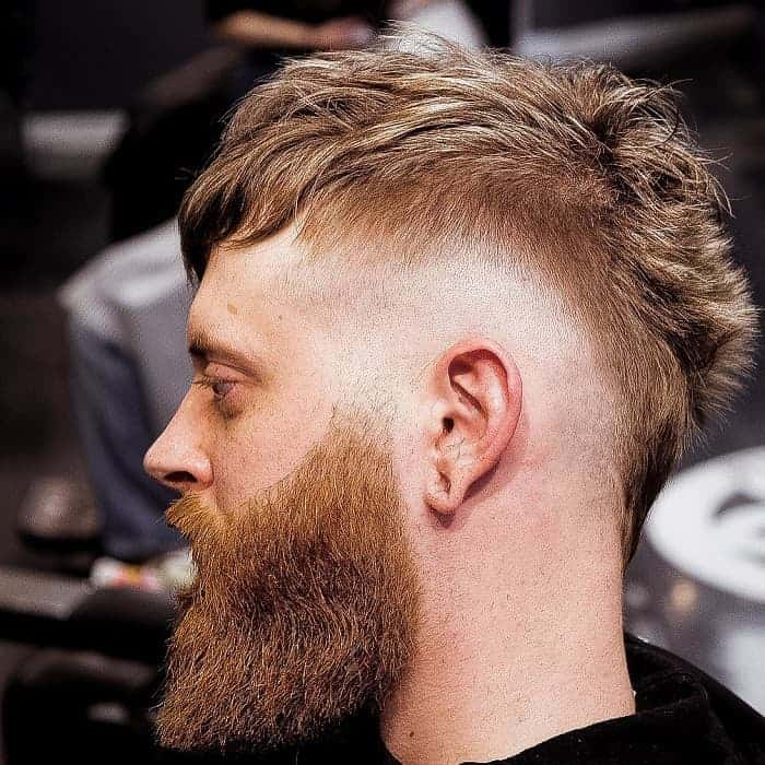 Short and Classic Undercut Mohawk Hairstyles for Men
