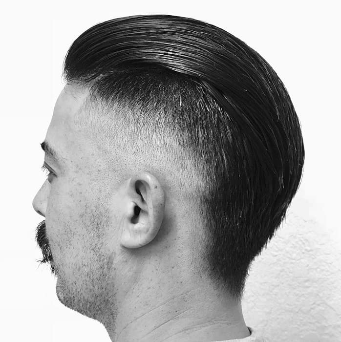 Slicked Back Undercut Mohawk