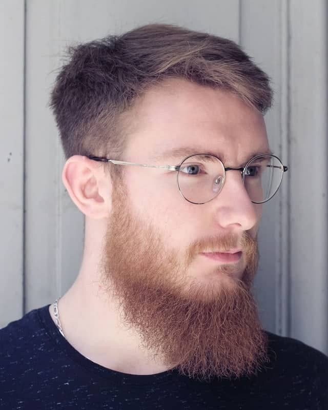 best undercut hairstyles with beard