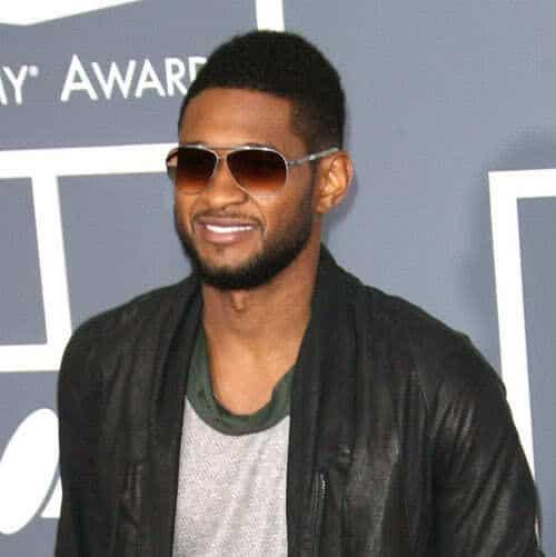 Photo of Usher at the 2011 Grammy Awards.
