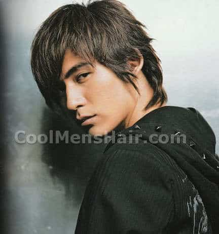 Image of Vic Zhou hair.