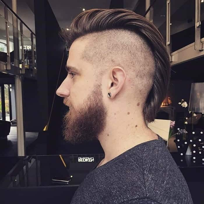 viking hairstyle with mohawk