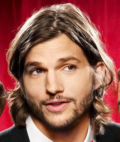 Photo of Walden Schmidt long hairstyle for men.