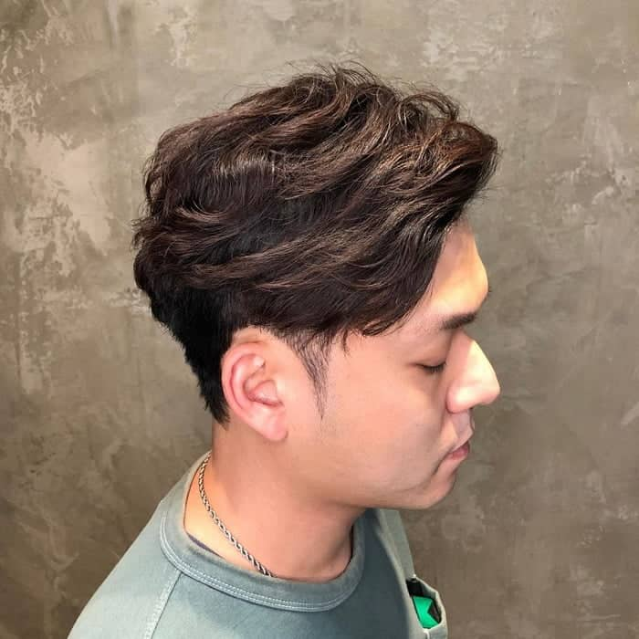 Wavy Perm For Guys