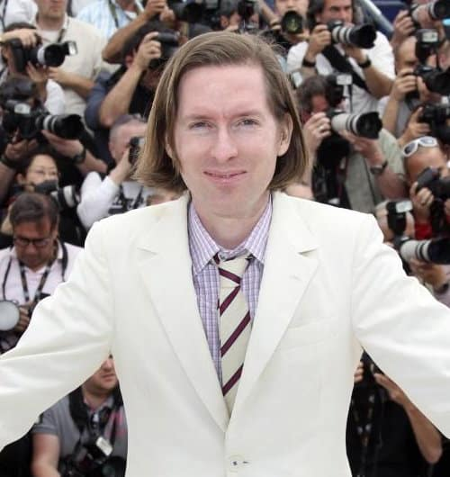 Photo of Wes Anderson hairstyle.