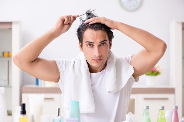 Combing Wet Hair Can Cause Hair Fall