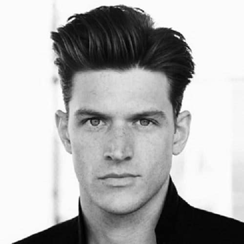 quiff hairstyle for white boy